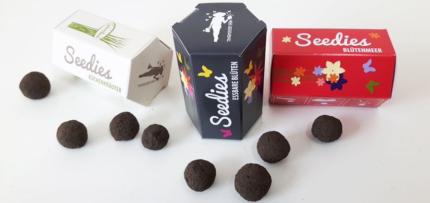 Mini-Seedballs Seedies von MISS GREENBALL