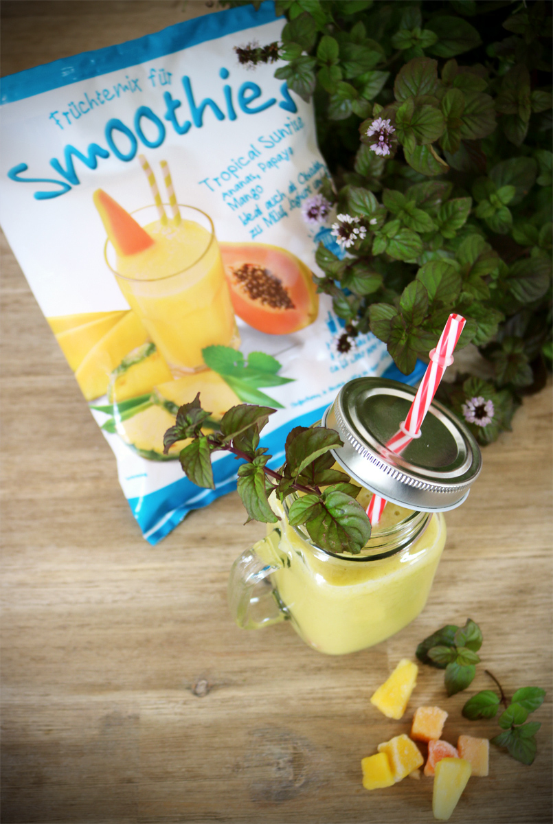 Tropical Sunrise Smoothie von Jütro Tiefkühlkost
