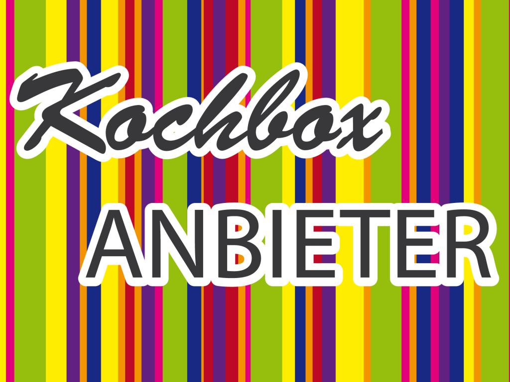 Kochbox-Anbieter
