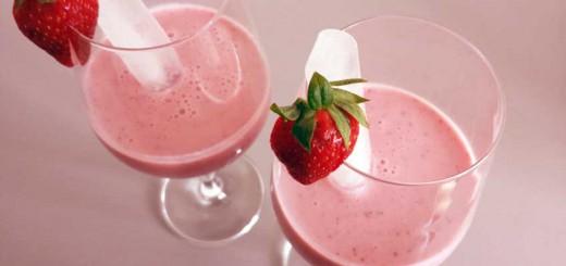 Erdbeer-Milch