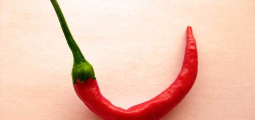 Peperoni aus eigenem Anbau