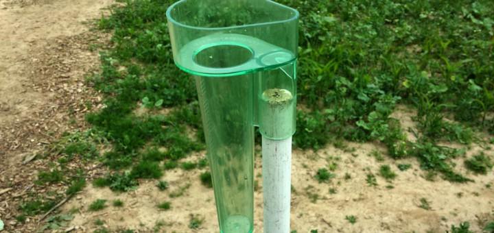Messbecher für Niederschlag