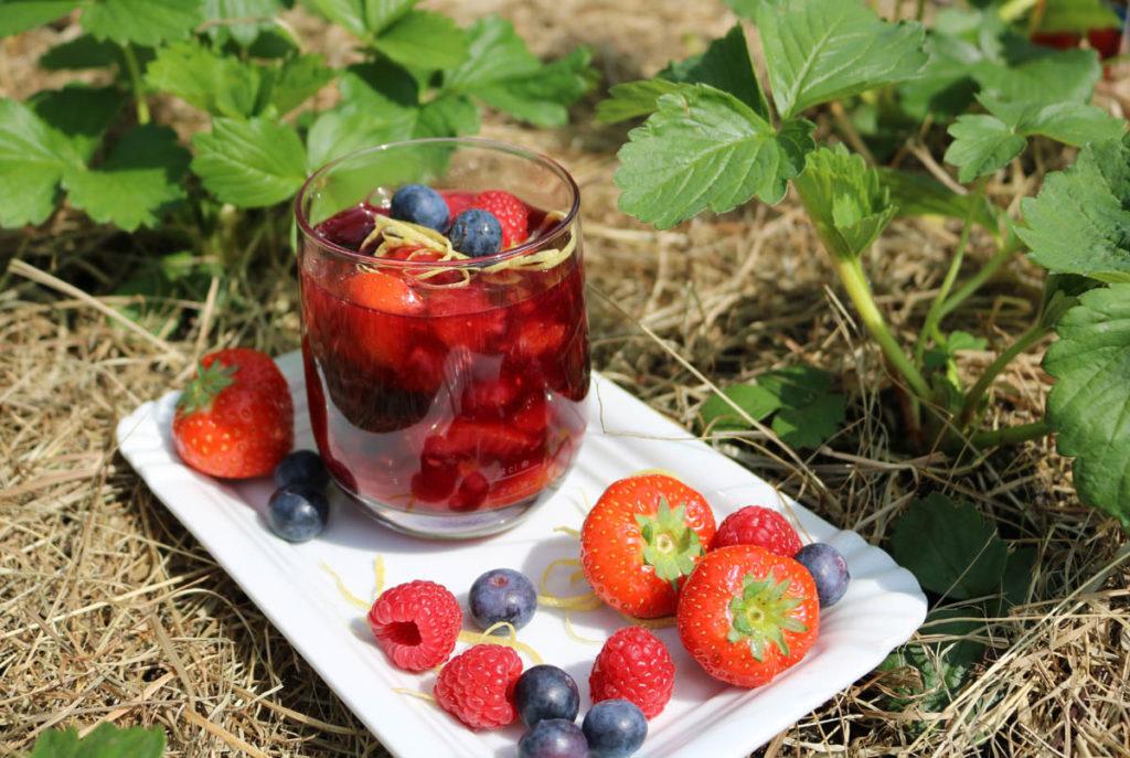 Wer verträgt sich gut mit Erdbeeren?