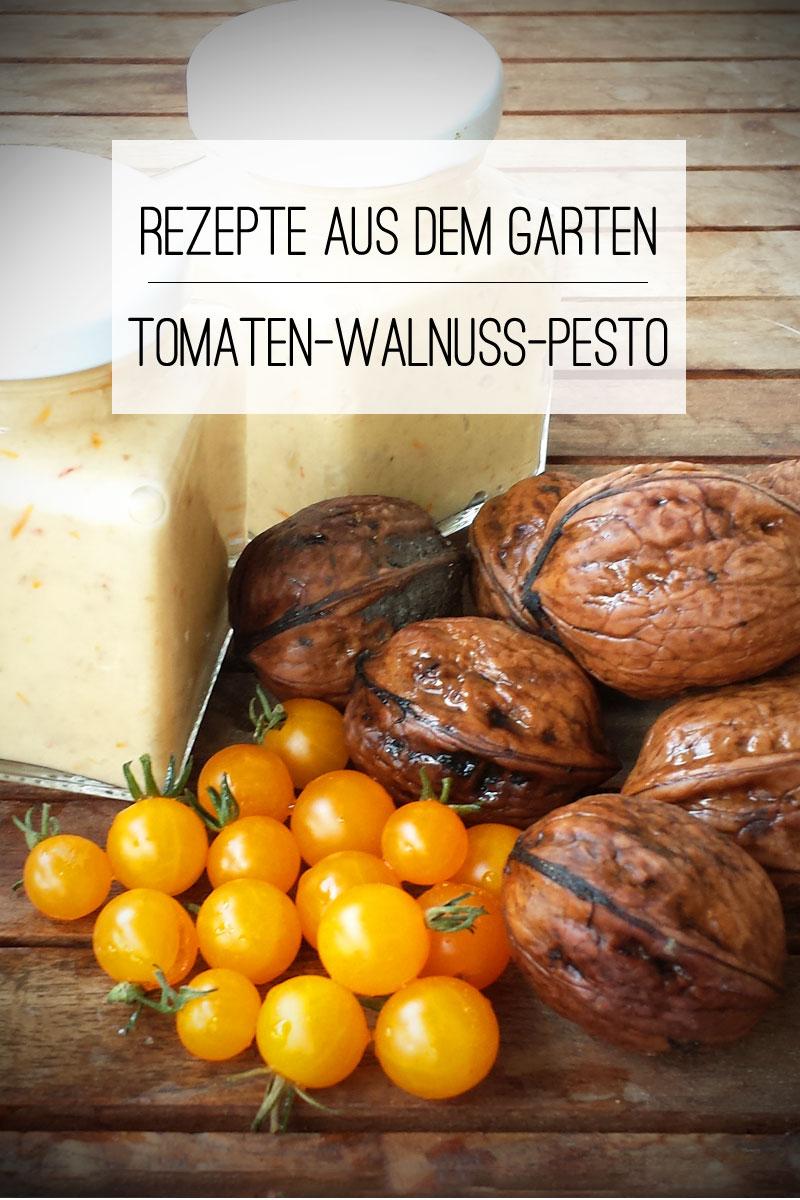 Tomaten-Walnuss-Pesto Rezepte aus dem Garten