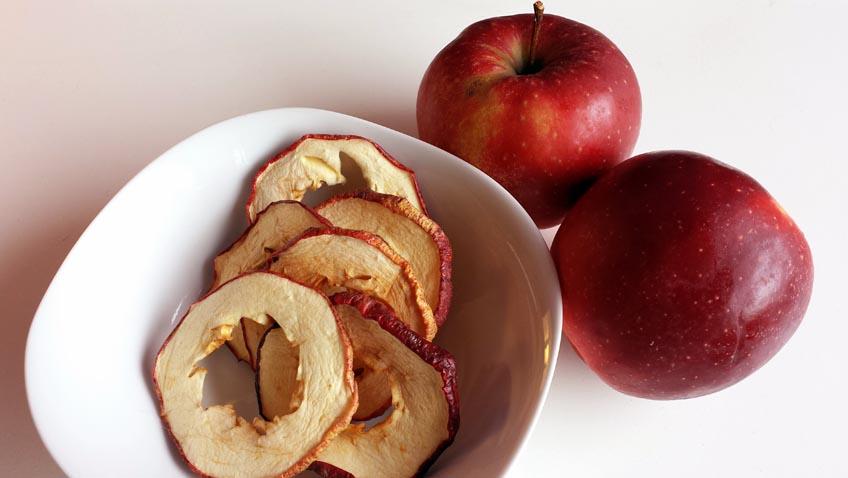 Berühmt Getrocknete Apfelringe - Ein gesunder Snack! - grüneliebe QF46