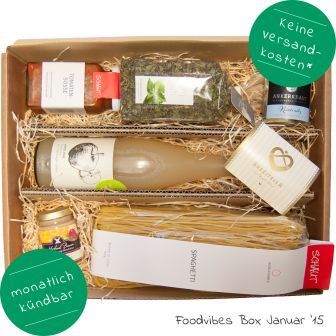 Foodvibes Box Januar 2015