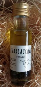 Knoblauchöl mit Salbei