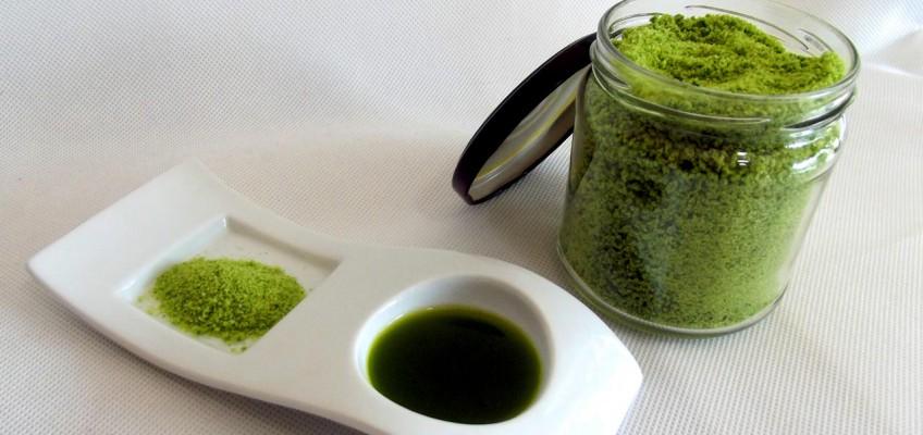 Bärlauch Salz und Bärlauch Öl