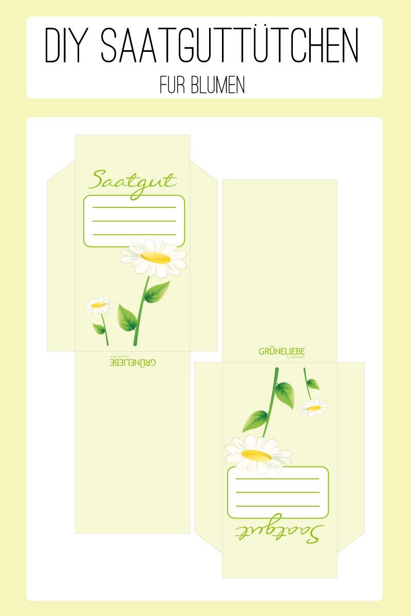 DIY Saatguttütchen für Blumen
