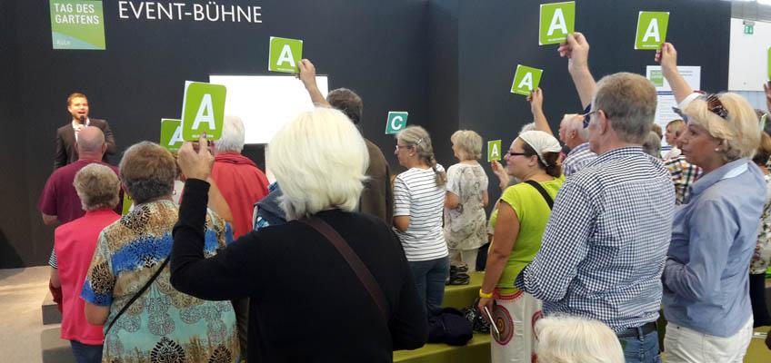 TAG DES GARTENS 2015 - Eventbühne Gartenquiz - Grüneliebe-de