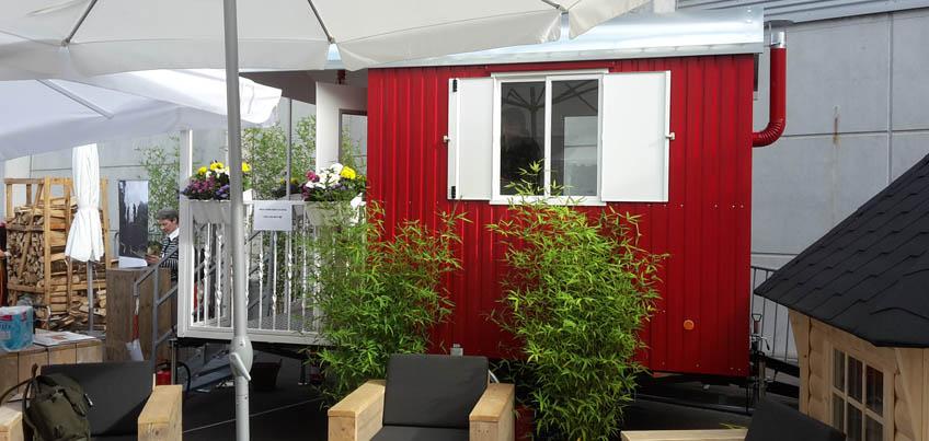 TAG DES GARTENS 2015 - Mobiles Gartenhaus - Grüneliebe-de