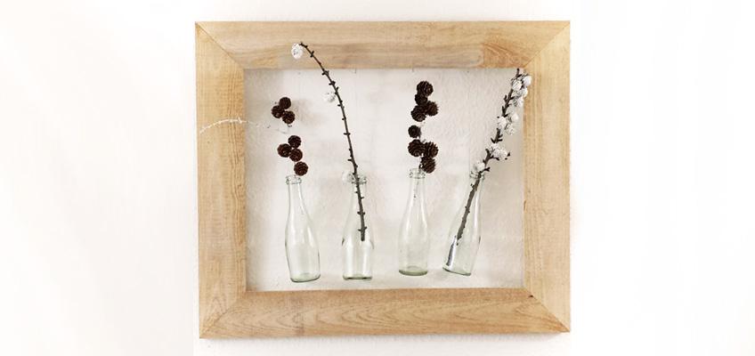 Diy herbstdeko mit flaschen gr neliebe for Herbstdeko 2016 draussen
