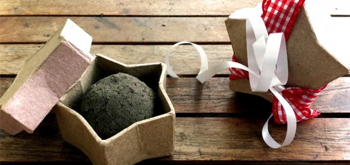 Seedballs selber machen - DIY Weihnachtsgeschenk