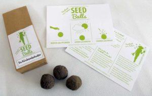 Seedballs Küchenkräuter Petersilie, Schnittlauch und Rukola