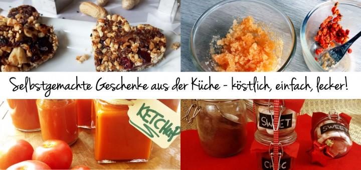 Selbstgemachte Geschenke aus der Küche - grüneliebe