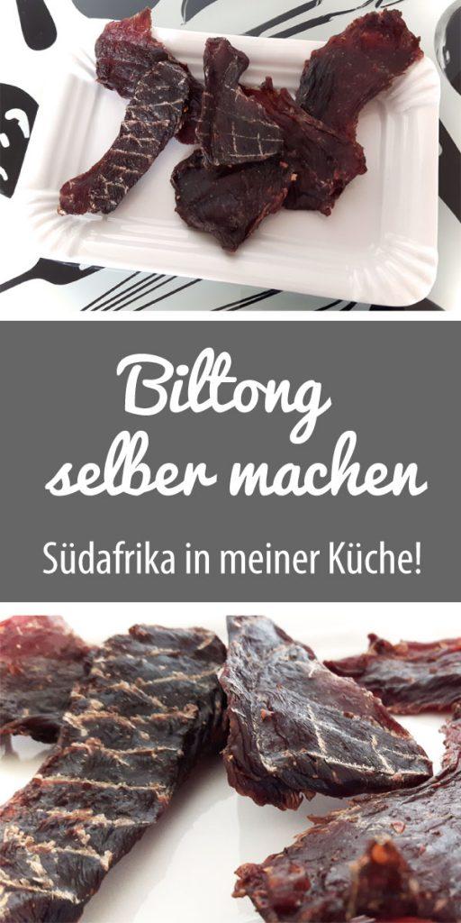 Biltong selber machen - Südafrika Spezialität | Trockenfleisch