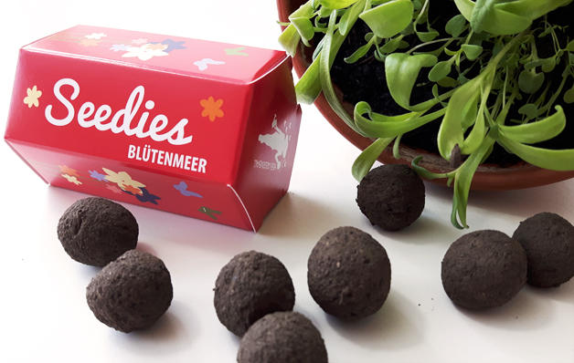 Mini-Seedballs Seedies Blütenmeer von MISS GREENBALL