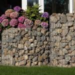 Gartengestaltung mit Gabionen