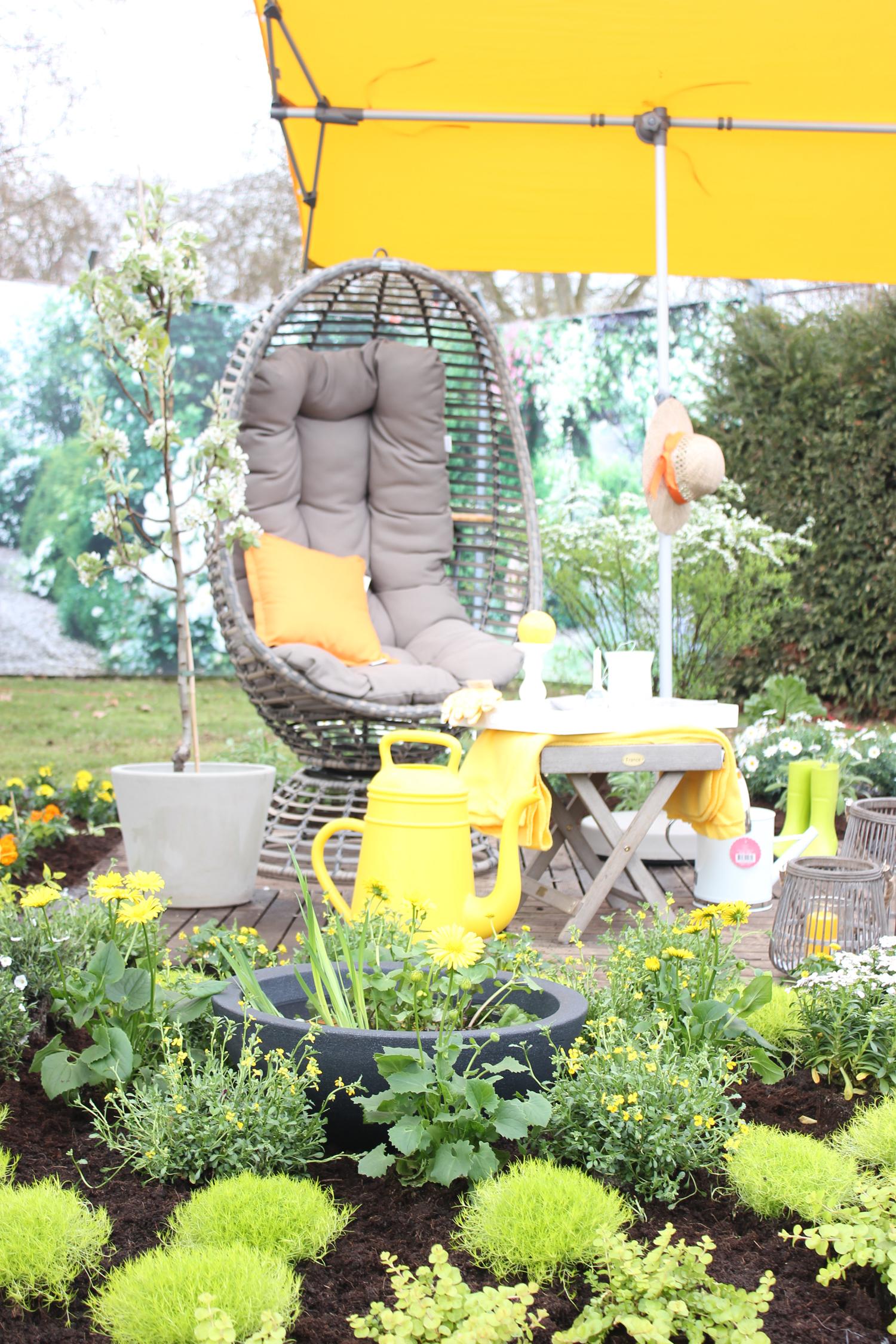 Gartengestaltung Wohlfühloase Garden Queen Pflanzen Kölle