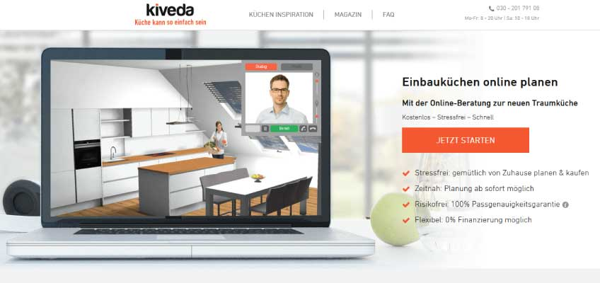 Kiveda-Küchenplanung-Online