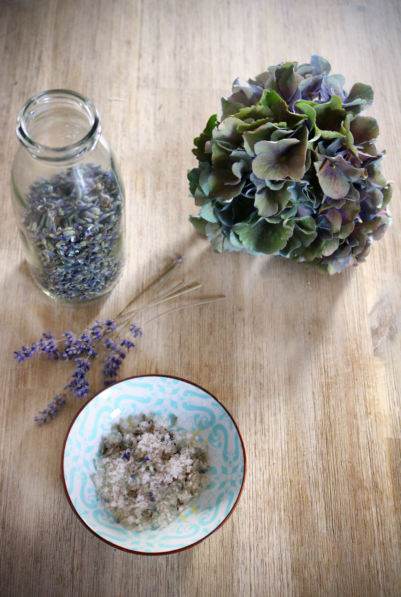 Lavendelsalz selbst gemacht