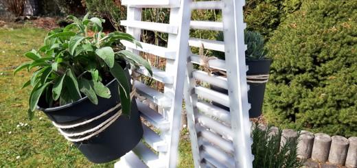 Pflanztopf DIY Kräutergarten