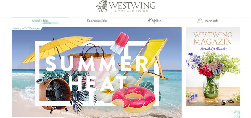 Westwing Home & Living - Urlaub im Garten