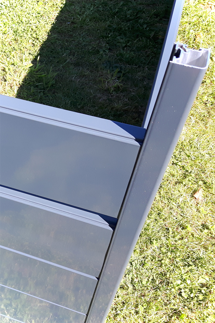 Hochbeet Metall Hohlkammerprofile Aluminium