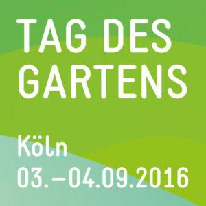 Logo Tag des Gartens Foto: Koelnmesse