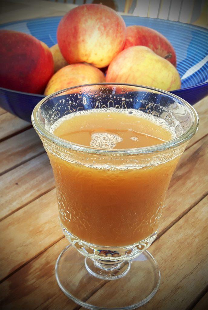 Apfelsaft selbstgemacht ohne Entsafter