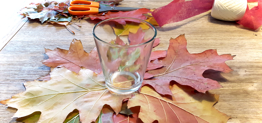 DIY schnelle Herbstdeko