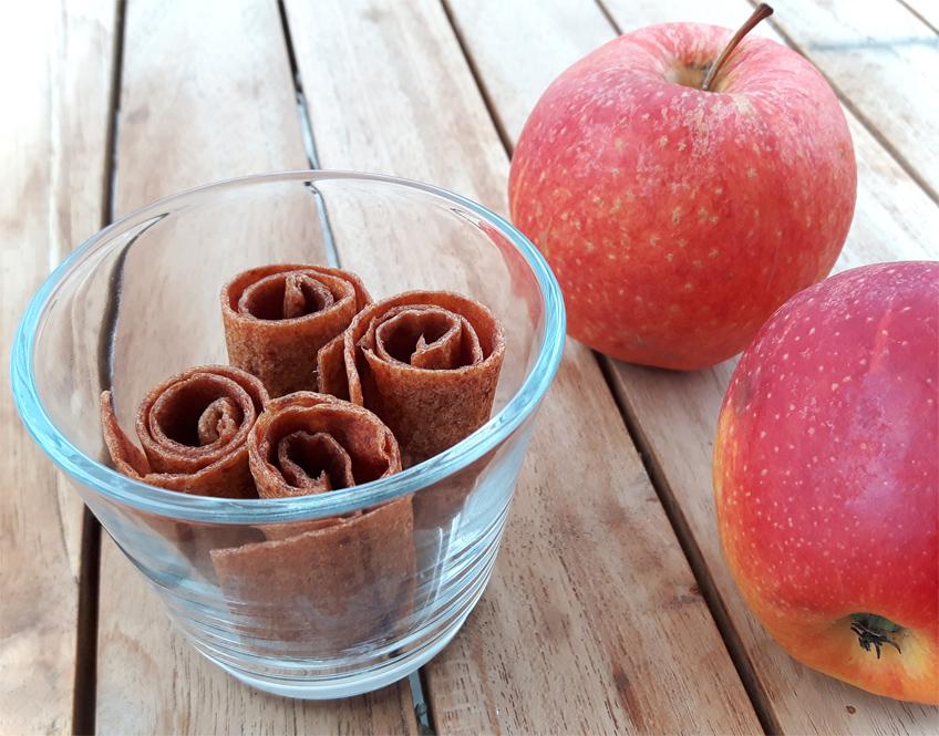Apfel-Zimt-Fruchtleder