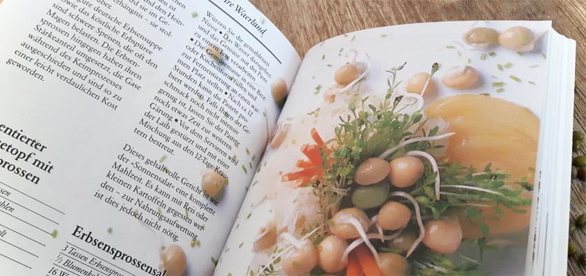 Das große Buch der Sprossen und Keime - Rezepte