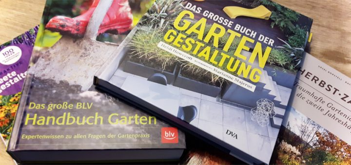 Gartenbücher für die Gartenplanung