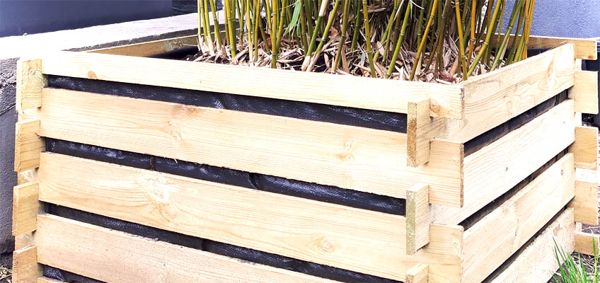 Relativ DIY: Pflanzkübel selber machen aus Holzkomposter - grüneliebe NJ25