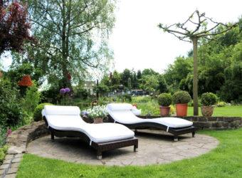 Offene Gartenpforte Naturnaher Garten Liegeplatz