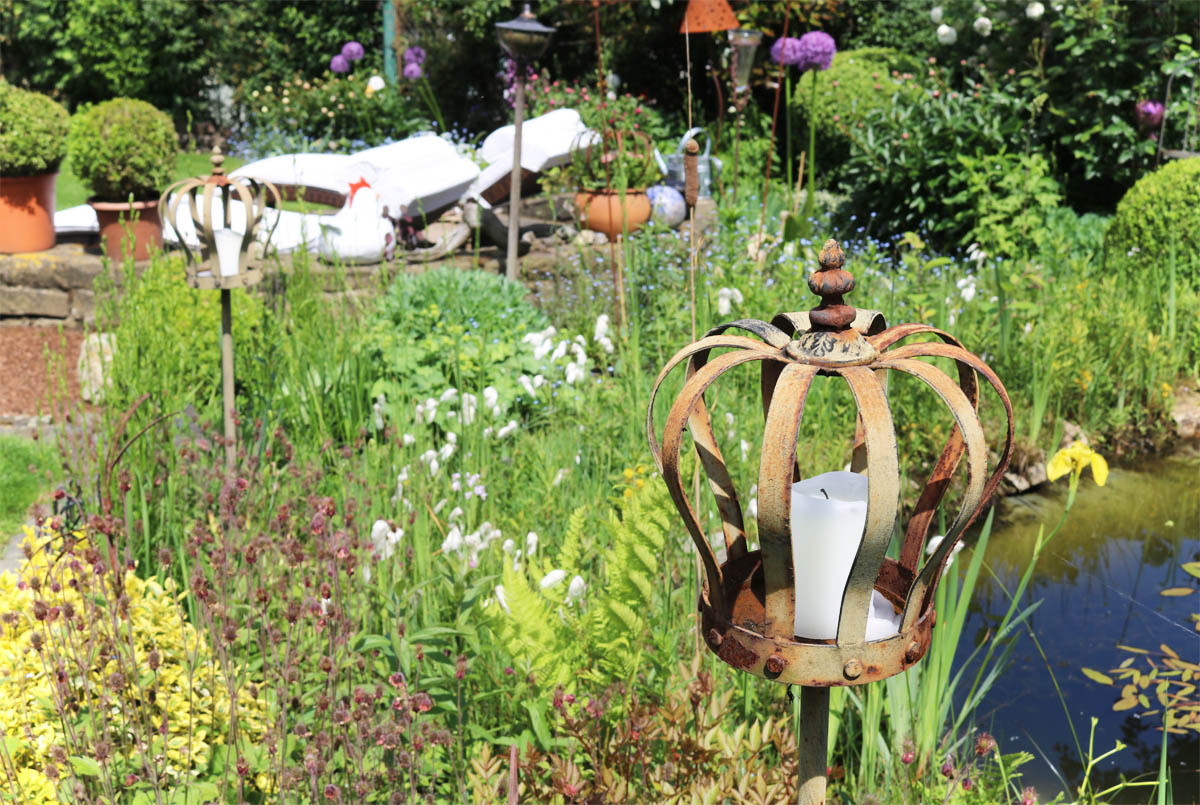 Offene Gartenpforte Naturnaher Garten nicht verunkrautet