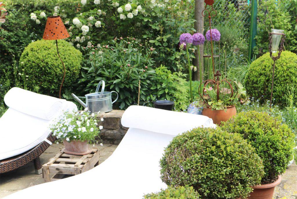 Offene Gartenpforte Naturnaher Garten zum Verweilen