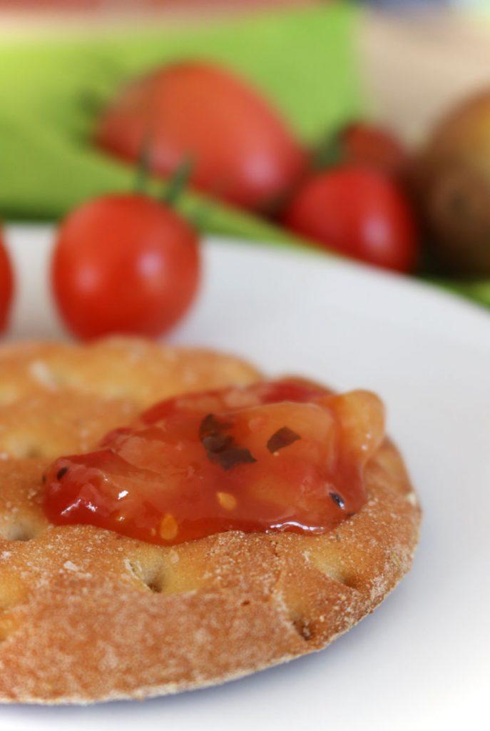 Tomaten-Kiwi-Marmelade selbstgemacht