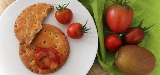Tomatenmarmelade mit Kiwi und Chili