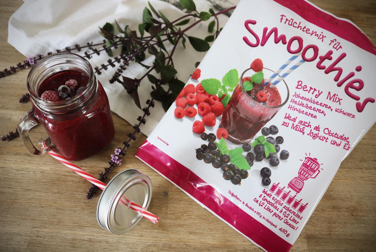 Berry Mix Smoothie von Jütro Tiefkühlkost