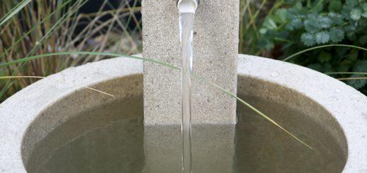 Brunnen im Garten fountainslite Esteras