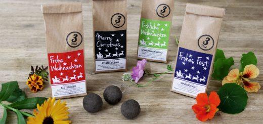 Seedballs Weihnachts-Edition Blumen-Seedbombs von MISS GREENBALL