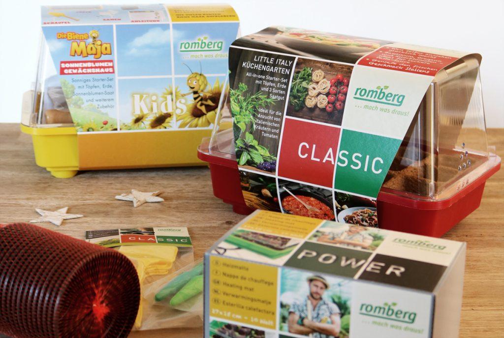 Pflanzenanzucht mit Romberg Adventsverlosung