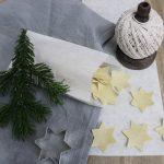 Geschenke aus der Küche selbstgemachte Pasta Weihnachtsnudeln