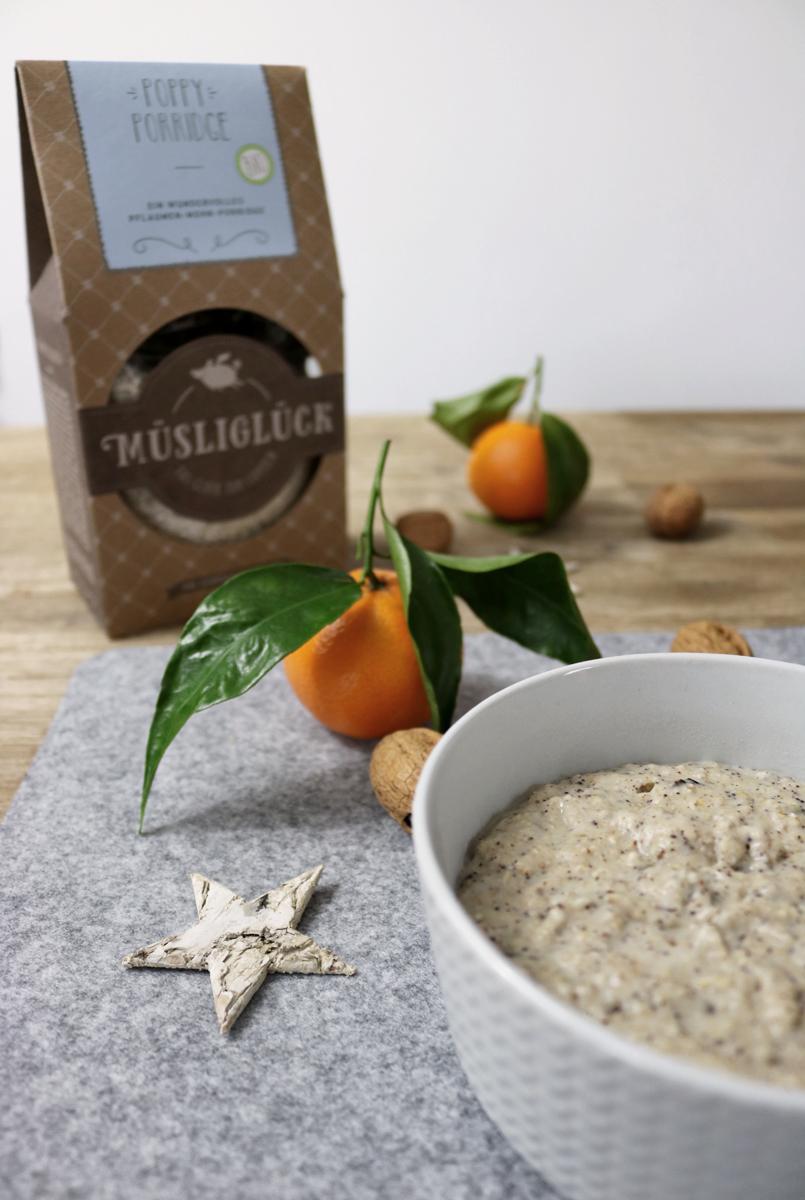 Müsliglück Porridge - Poppy Porridge Mohn und Pflaume