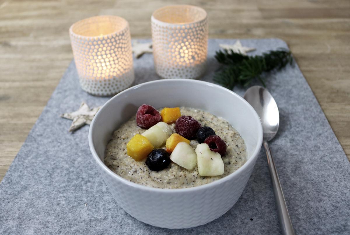 Müsliglück Porridge - Porridge mit Früchten