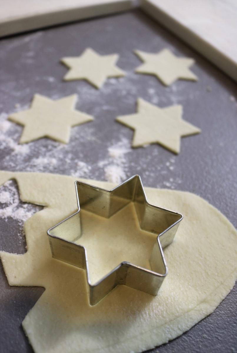 Sternnudeln selbstgemachte Pasta Geschenke aus der Küche