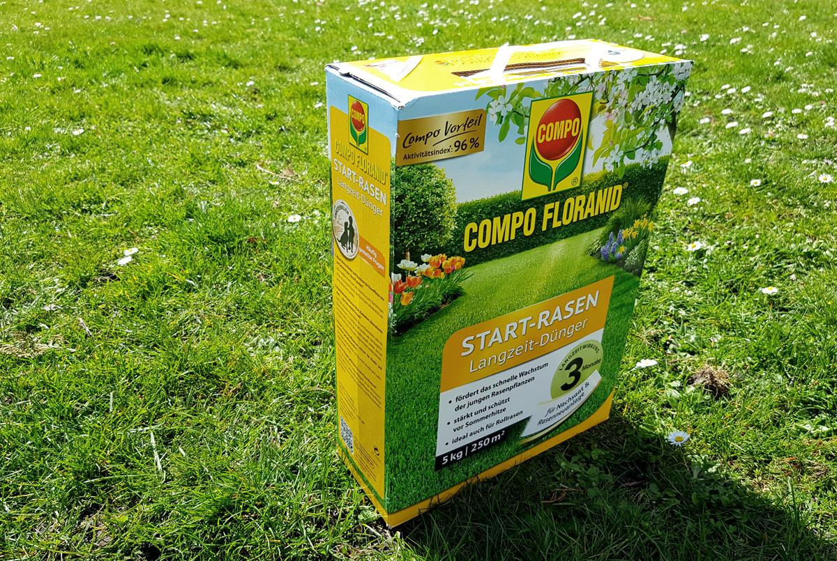 Compo Floranid Rasen Langzeitdünger Frühjahr Rasendüngung