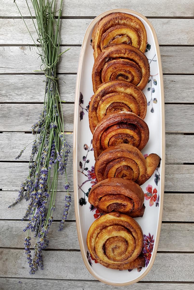 schwedische Kanelbullar Zimtschnecken Rezept